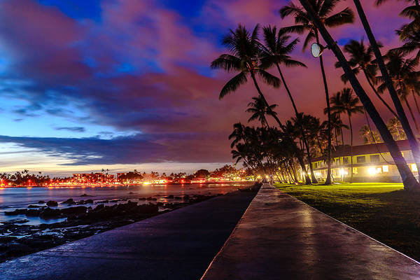 Photograph - After Sunset At Kona Inn by John Bauer