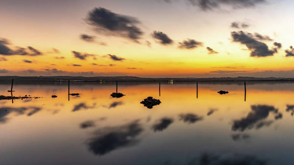 Wall Art - Photograph - After Sunset At Laguna Rosa by Mike Walker
