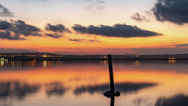 Wall Art - Photograph - After Sunset At The Pink Lake by Mike Walker