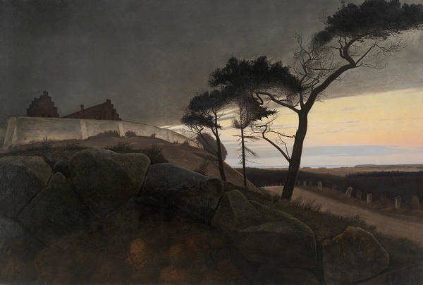 Painting - After Sunset by Laurits Andersen Ring