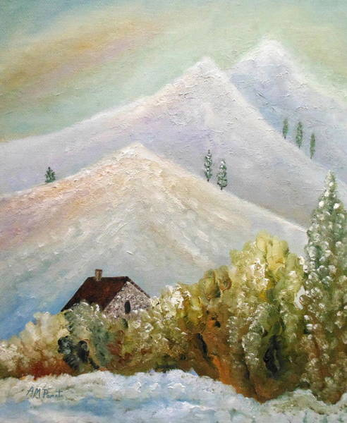 Painting - After The Ice Storm by Angeles M Pomata