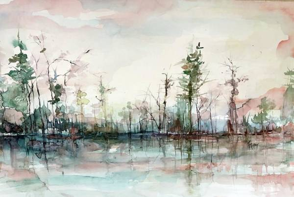 Painting - After The Rains by Robin Miller-Bookhout