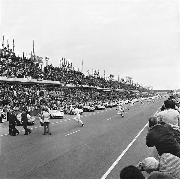 Endurance Race Photograph - After The Start, The Competitors by Keystone-france