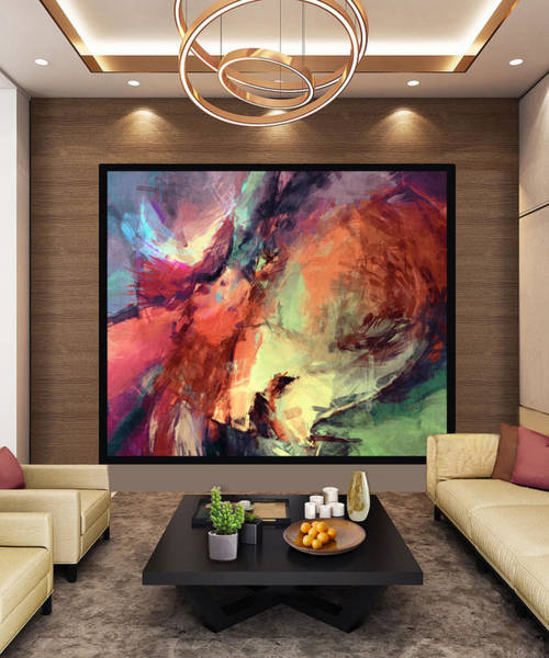 Wall Art - Digital Art - After The Storm -artwork In Situ by Grace Iradian