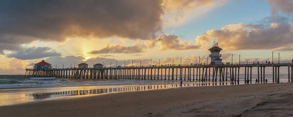 Photograph - After The Storm Huntington Beach by Cliff Wassmann