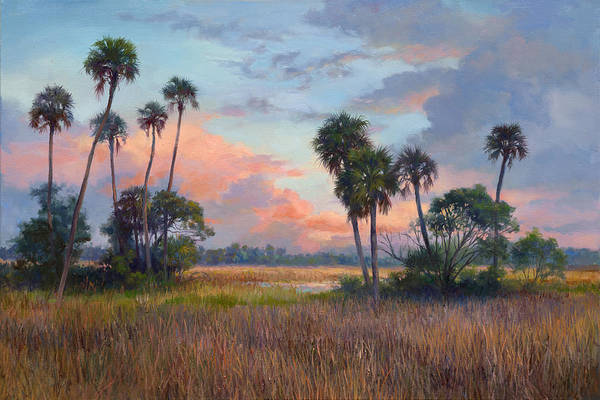 Lake Okeechobee Wall Art - Painting - After The Storm by Laurie Snow Hein