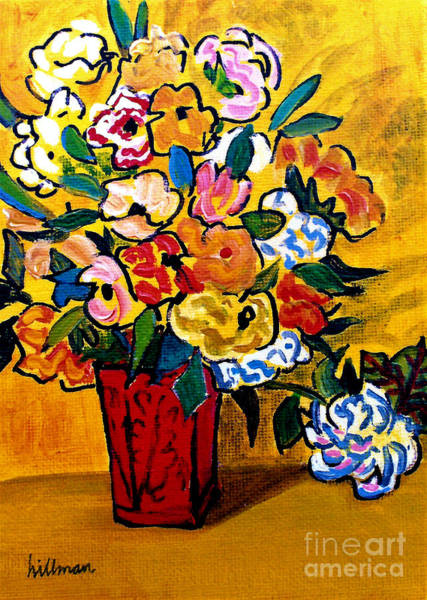 Wall Art - Painting - After Van Gogh 1 by A Hillman