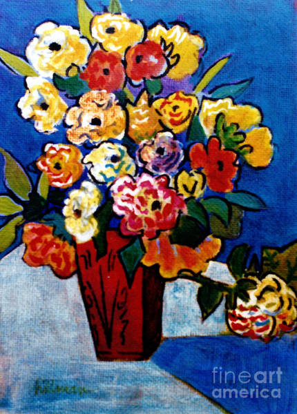 Wall Art - Painting - After Van Gogh 2 by A Hillman