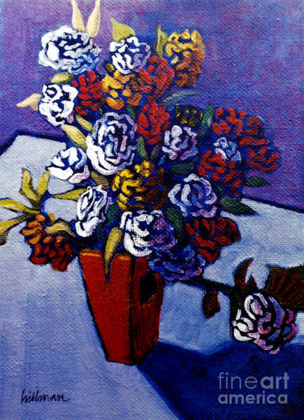 Wall Art - Painting - After Van Gogh 4 by A Hillman
