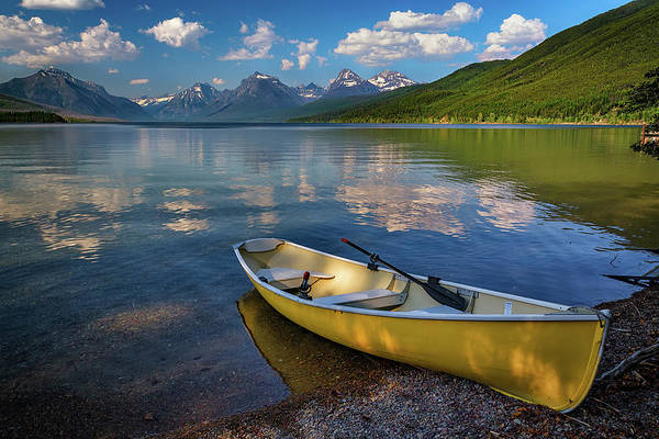 Wall Art - Photograph - Afternoon At Lake Mcdonald by Rick Berk