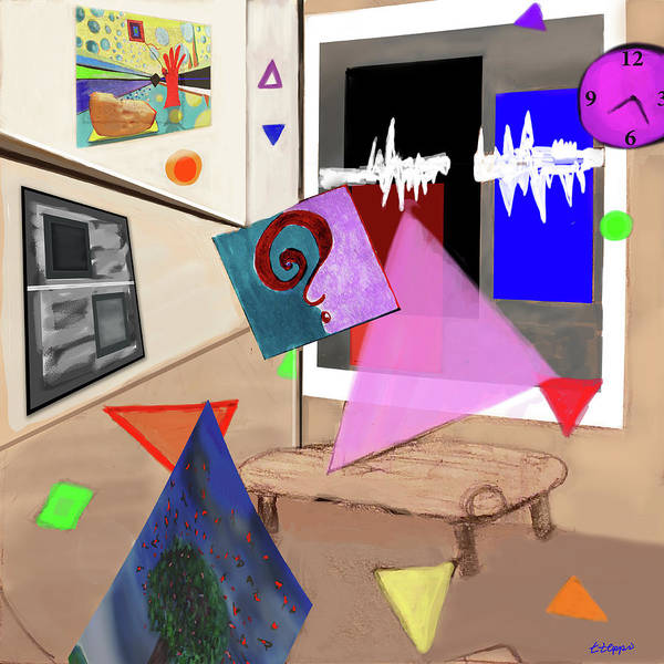Digital Art - Afternoon At The Museum by Teresa Epps