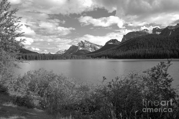 Wall Art - Photograph - Afternoon At Waterfoul Lakes Black And White by Adam Jewell