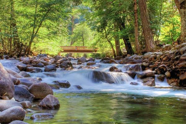 Vernal Fall Photograph - Afternoon Creek by Sean Duan