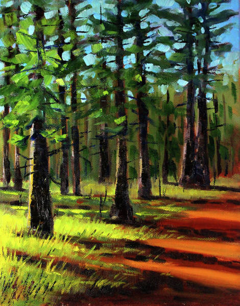 Painting - Afternoon Light by Nancy Merkle