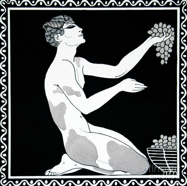 Wall Art - Drawing - Afternoon Of A Faun by Georges Barbier