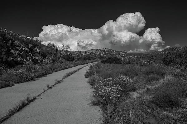 Wall Art - Photograph - Afternoon, Old Road, Black And White by TM Schultze