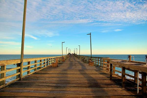 Photograph - Afternoon On The Pier by Cynthia Guinn