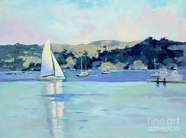 Sausalito Painting - Afternoon Sail, Sausalito by John McCormick