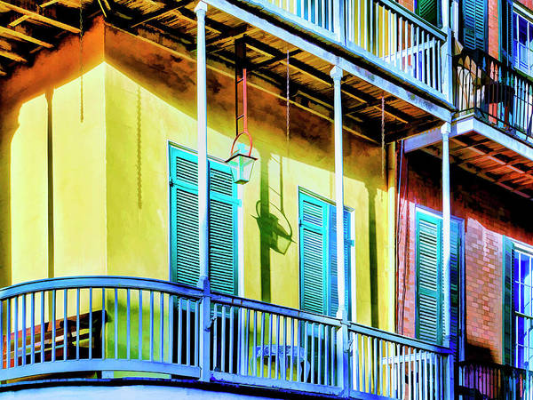 Photograph - Afternoon Shadows French Quarter by Dominic Piperata