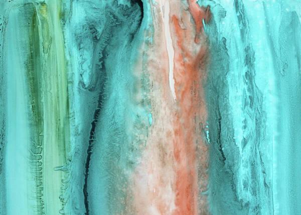 Azure Painting - Agate Shore 3 by Kris Parins