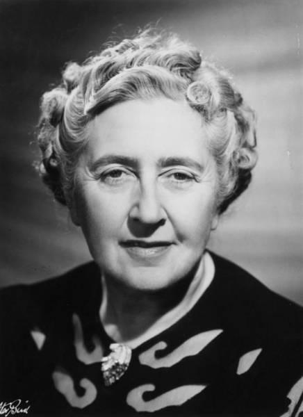 Headshot Photograph - Agatha Christie by Walter Bird