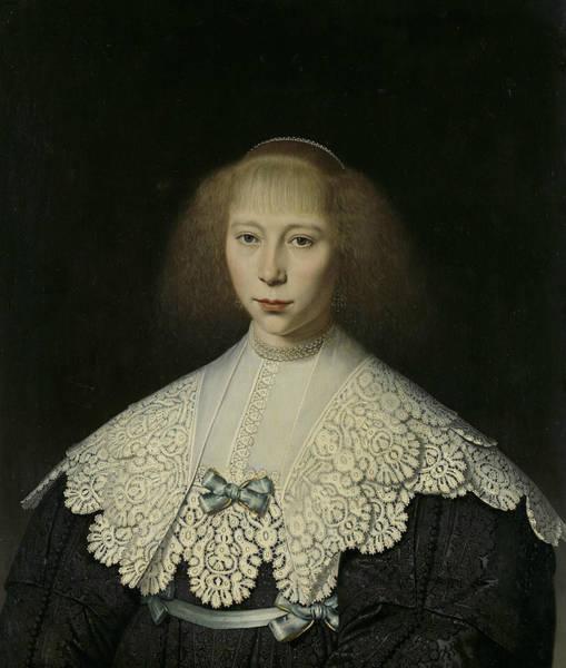 Painting - Agatha Geelvinck  by Dirck van Santvoort