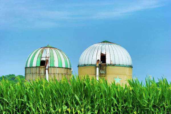 Photograph - Agricultural Silos Of Rural West Virginia by Dee Browning