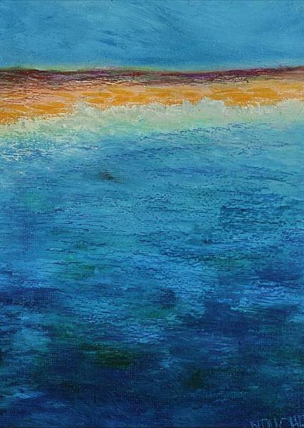 Painting - Aguamarina by Norma Duch