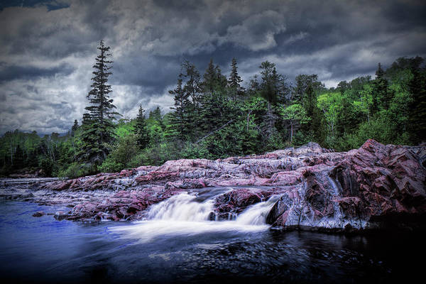 Photograph - Aguasabon River Mouth Water Falls by Randall Nyhof