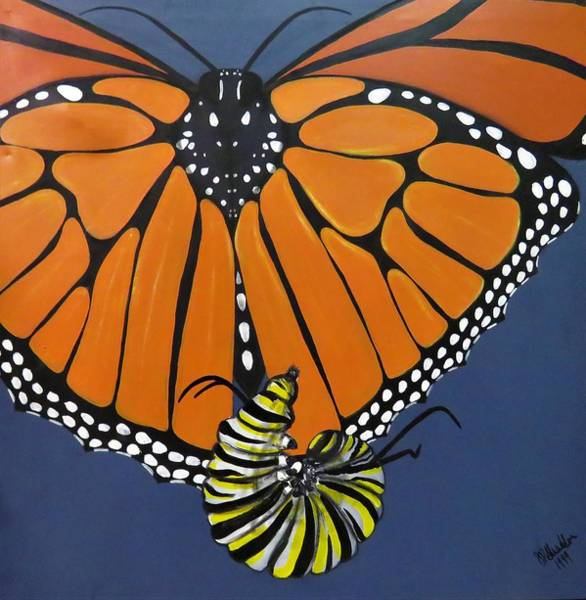 Painting - Ah To Fly by Joan Stratton