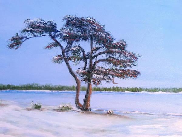 Painting - Ahus Pine by Bernd Hau