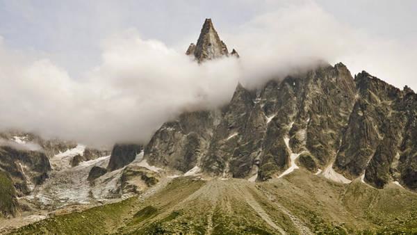 Mont Blanc Wall Art - Photograph - Aiguille Du Dru In Mont Blanc Massif by David Pérez