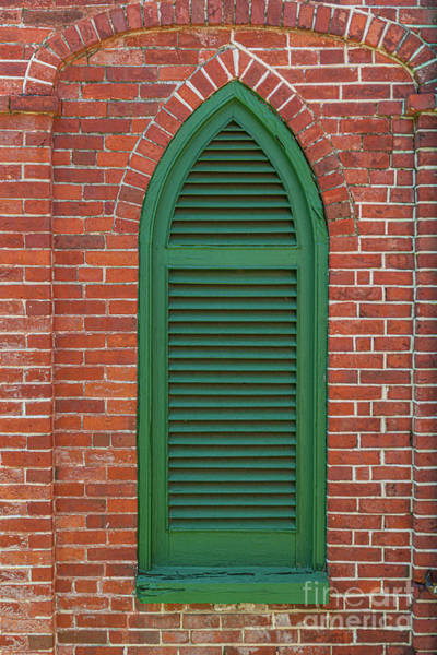 Photograph - Aiken Rhett House - Charleston Brick Architecture by Dale Powell