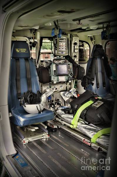 Wall Art - Photograph - Air Ambulance An Inside Look by Paul Ward