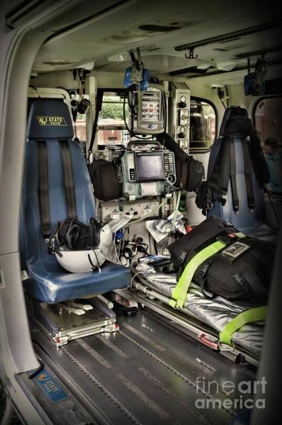Wall Art - Photograph - Air Ambulance An Inside Look by Paul Ward
