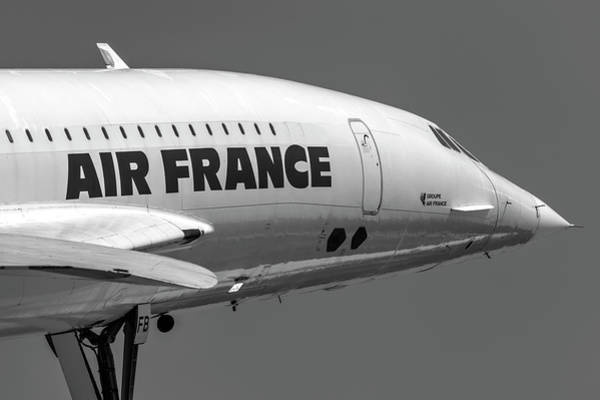 Wall Art - Photograph - Air France Concorde Aircraft by David Pyatt