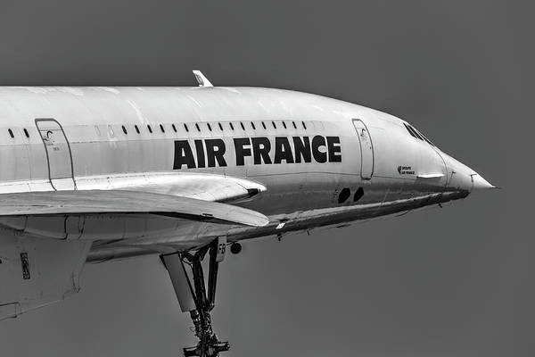Wall Art - Photograph - Air France Concorde by David Pyatt
