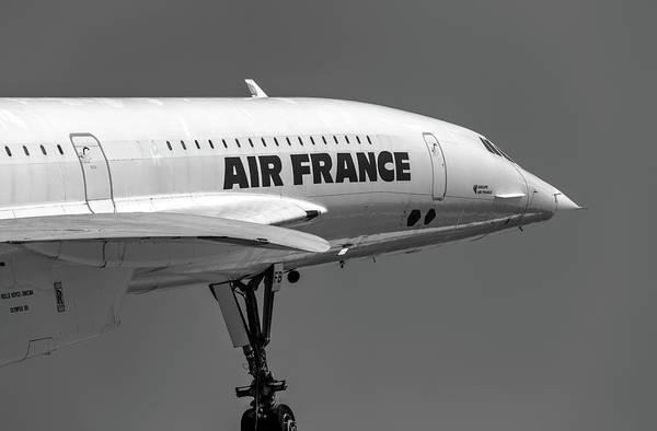 Wall Art - Photograph - Air France Concorde Jet by David Pyatt