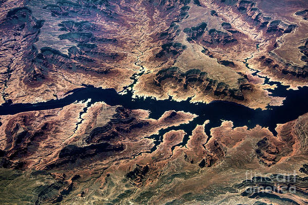 Wall Art - Photograph - Air View Of The Grand Canyon by Mae Wertz