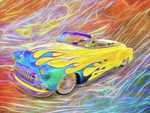 Digital Art - Airflame by Rick Wicker