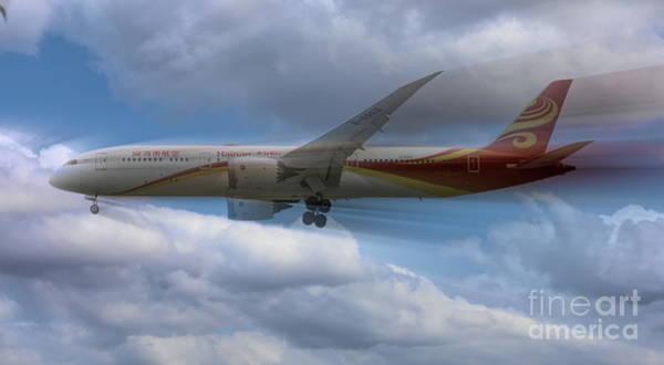 Wall Art - Photograph - Airlines Hainan China  by Chuck Kuhn