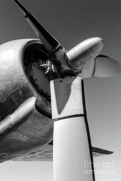 Wall Art - Photograph - Airplane Propeller by Edward Fielding
