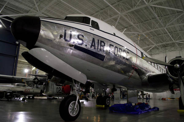 Wall Art - Photograph - Airplanes Military C 54d Skymaster Transport by Thomas Woolworth