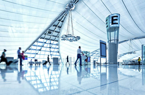 Arrival Photograph - Airport by Nikada