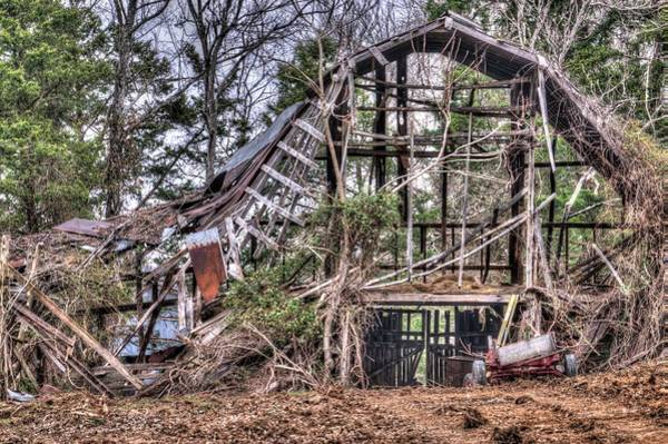 Wall Art - Photograph - Airy Barn In Great Need Of Repair by Douglas Barnett