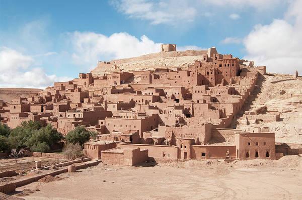 Berber Wall Art - Photograph - Ait Benhaddou Kasbah Or Ksar In Morocco by Gavind