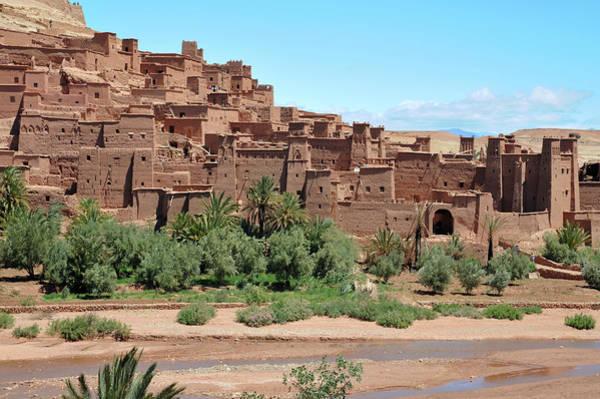Sahara Photograph - Ait Benhaddou by Ytwong