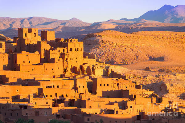 Wall Art - Photograph - Ait Benhaddou,fortified City, Kasbah Or by Matej Kastelic