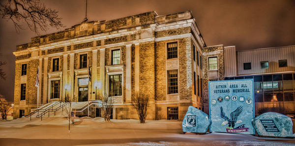 Wall Art - Photograph - Aitkin County Courthouse by Paul Freidlund