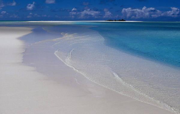 Aitutaki Lagoon, Cook Islands Art Print